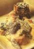 Poulet au morilles sauce au vin