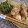 Poulet au Satay Maison et ses Asperges sautées à la chinoise (Ken Hom)