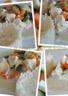 Poulet aux petits légumes et sauce crémeuse