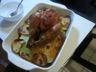 Poulet boulangère (cuit sur un lit de pommes de terre)