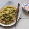 Poulet coco curry et légumes croquants