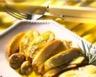 Poulet confit à l'huile d'olive