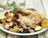 Poulet en cocotte aux champignons et aux pommes de terre