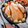 Poulet en cocotte aux échalotes et oignons grelots