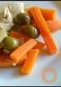 Poulet léger aux carottes et aux olives