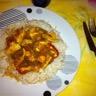 Poulet poivrons-tomates-curry
