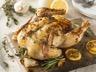 Poulet rôti au citron et à l'ail