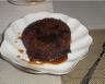 Pudding au chocolat sauce café instantané