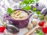 Purée d'aubergine minceur