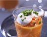 Purée de carottes au cumin et crème fouettée au chèvre