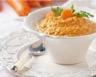 Purée de carottes et pomme de terre au fromage frais