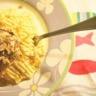 Purée de Chérie maquereau vapeur huiles olive & sésame