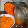 Purée de courge musquée lait de coco et épices