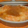Purée de pommes de terre carottes en cocotte