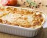 Purée de pommes de terre et jambon gratinée