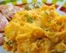 Purée pommes de terre carotte et crème fraîche