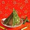 Pyramide de sucre d'orge et son trésor glacé aux marrons