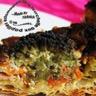 Quiche aux brocolis carottes oignons et roquefort