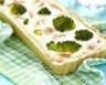 Quiche aux brocolis saumon fumé et crème fraîche