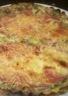 Quiche aux légumes et jambon sans pâte
