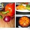 Quiche sans pâte chorizo poivron et mimolette
