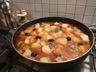 Râgout de pommes de terre porc et olives