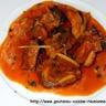 Ragoût de porc au gingembre mangue