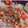 Raie aux fraises sucrée-salée