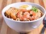 Ramen (nouilles japonaises) sautées aux crevettes