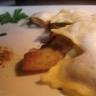 Ravioles au foie gras sous un nuage de Lomagne