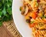 Ravioles de poulet sauce gorgonzola