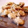 Risotto au citron champignons romarin et boulettes de veau citronnées