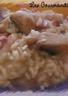 Risotto aux cèpes au parmesan et au vin blanc de Lignac