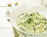 Risotto aux épinards fromage frais et parmesan