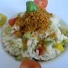 Risotto aux légumes du soleil et sa chapelure au chorizo