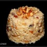 Risotto crémeux aux noix et champignons