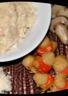 Risotto crémeux champignons et saint-jacques