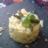 Risotto de légumes verts: petits pois fèves et asperges vertes