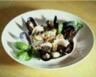 Risotto de riz noir au bouillon de coquillages