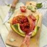 Risotto provençal rouge aux rougets et poivrons rouges