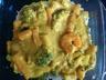 Riz aux petits légumes et crevettes sauce curry