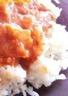 Riz sauce tomate et chèvre