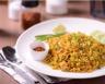 Riz sauté aux légumes boeuf et épices