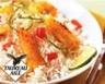 Riz Thaï Primeur cuisiné à la lotte aux poivrons et au citron vert