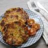 Rösti pommes de terre et poireaux