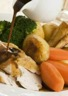 Rôti de dindonneau aux légumes