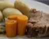 Rôti de porc aux petits légumes