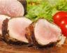Rôti de porc en croûte de tomates séchées maison