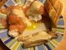 Roulade de saumon à l'oeuf poché