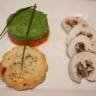 Roulé de dinde farcis aux champignons de Paris